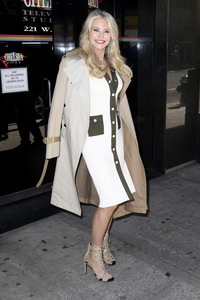 16.04.2019<br>Christie Brinkley bei 'The Wendy Williams Show' in New York