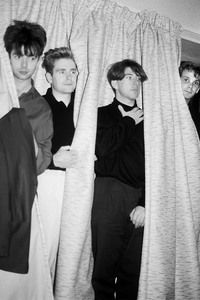 15.05.1985<br>Photoshooting mit Echo & the Bunnymen in London
