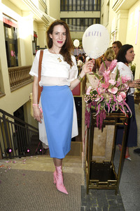 04.07.2018<br>Grazia Pink Hour Cocktail auf der Berlin Fashion Week Spring/Summer 2019