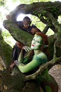 09.07.2018<br>GEEK ART: Märchenwald / Enchanted Forest Bodypainting