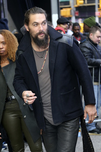 03.12.2018<br>Jason Momoa in der Nachrichtensendung 'Good Morning America' in New York
