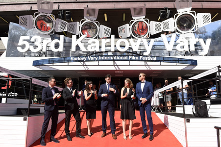 03.07.2018<br>Filmpremiere 'Panic Attack', Karlovy Vary International Film Festival 2018