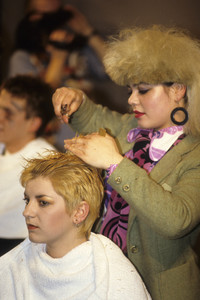 25.10.1984<br />Vidal Sassoon Traineee Hair Show in London