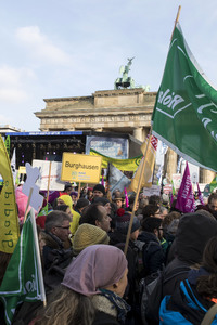 19.01.2019<br>Demonstration 'Wir haben es satt!' in Berlin