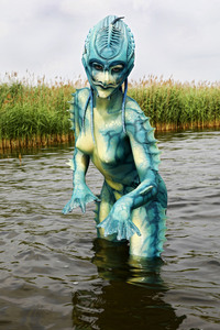 12.06.2018<br />GEEK ART: See-Kreatur / Sea Creature Bodypainting