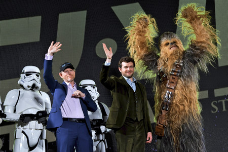 12.06.2018<br>Filmpremiere 'Solo: A Star Wars Story' in Tokio