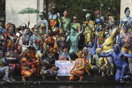 22.07.2017<br>NYC Bodypainting Day in New York