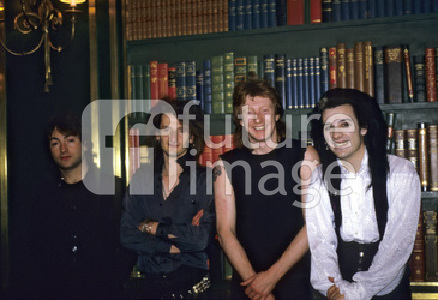 Photoshooting mit The Damned in London