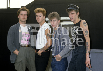 Photocall mit den Stray Cats in London