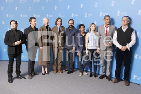 Willem Dafoe, Edward Norton, Tilda Swinton, Wes Anderson, Ralph Fiennes, Tony Revolori, Saoirse Ronan, Jeff Goldblum, Bill Murray