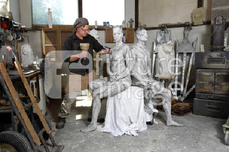 WORKING ART: Steinmetz / Stonemason Body Painting