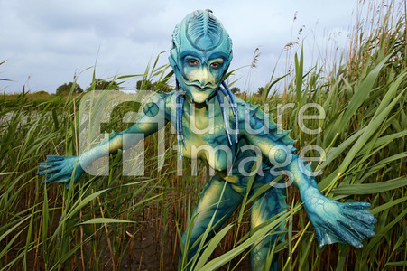 GEEK ART: See-Kreatur / Sea Creature Bodypainting