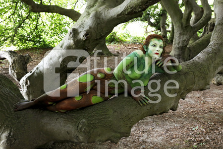GEEK ART: Märchenwald / Enchanted Forest Bodypainting