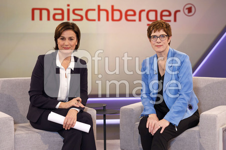 Talkshow 'Maischberger' in Köln
