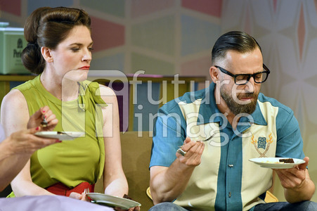 Theaterprobe 'Zuhause bin ich Darling' in Berlin