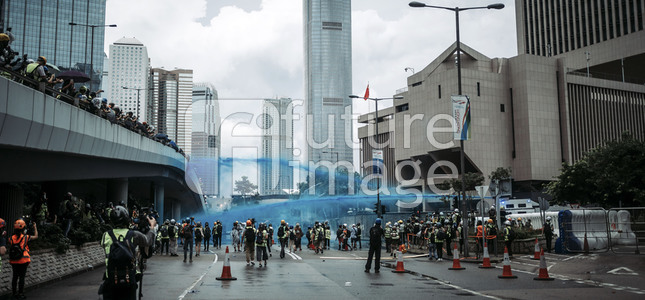 Demonstrationen in Hongkong
