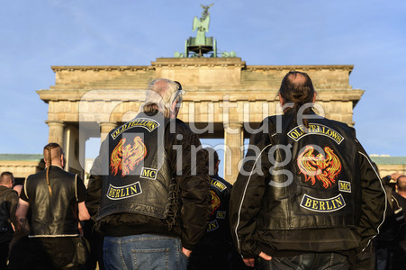 Biker Demo in Berlin