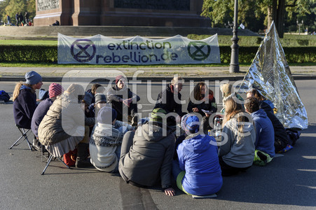 Extinction Rebellion Protestaktion in Berlin