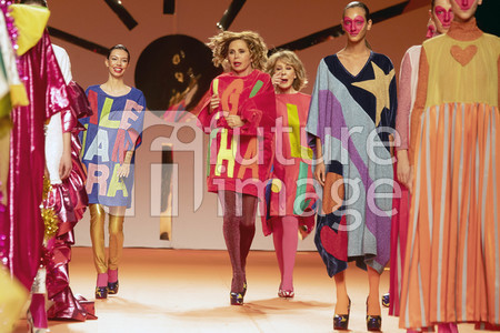 Agatha Ruiz de la Prada Fashion Show auf der Mercedes-Benz Fashion Week Madrid Autumn/Winter 2020