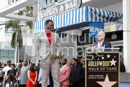 Curtis '50 Cent' Jackson erhält einen Stern auf dem Hollywood Walk of Fame in Los Angeles