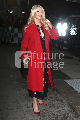 Christie Brinkley bei der Talkshow 'Build Series' in New York