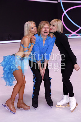 Halbfinale der TV Show 'Dancing on Ice' in Köln