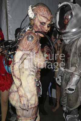 Heidi Klum's Halloween Party in New York