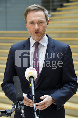 Pressestatement von Christian Lindner in Berlin
